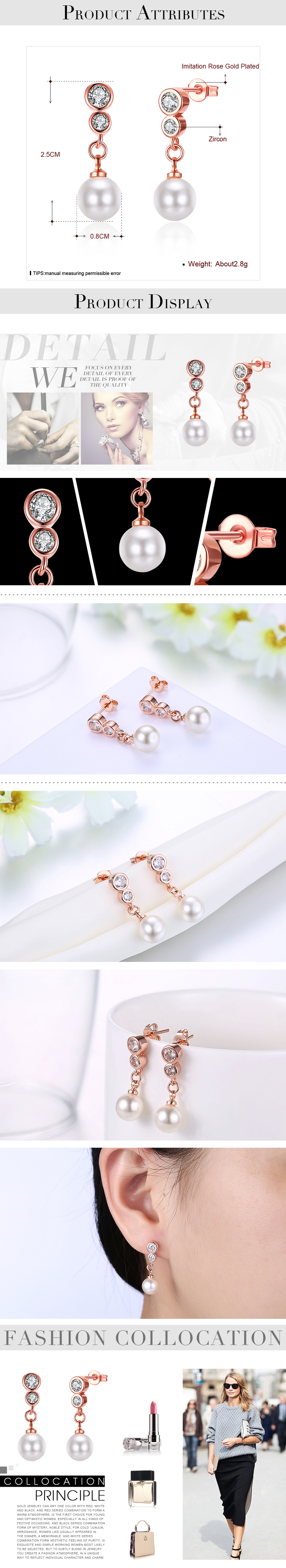 Stud Earrings NHKL12305
