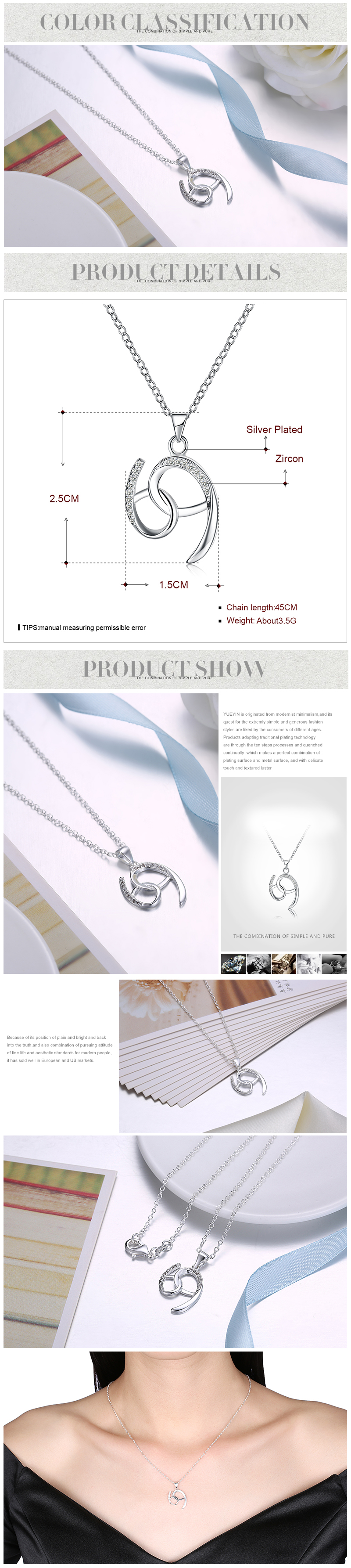 Necklaces NHKL12271