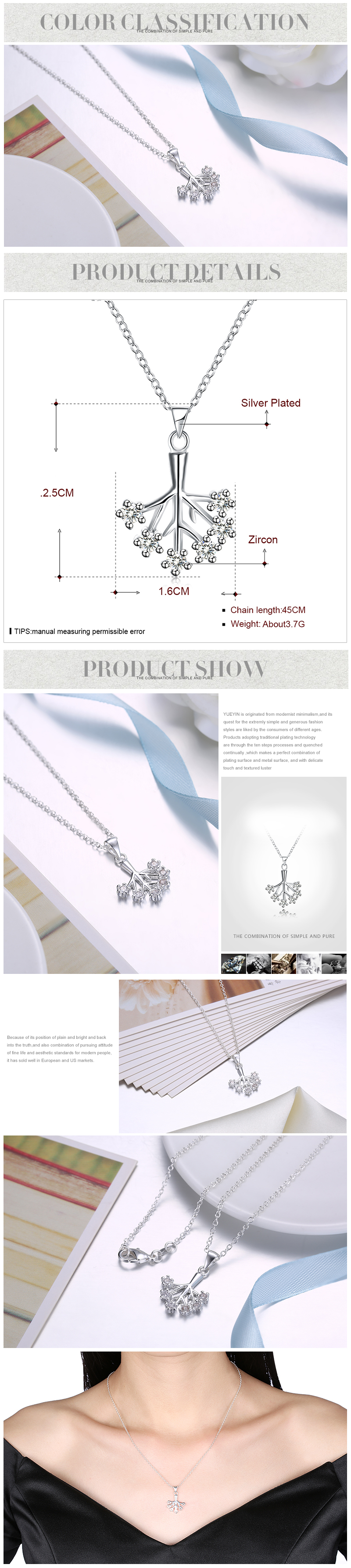 Necklaces NHKL12268