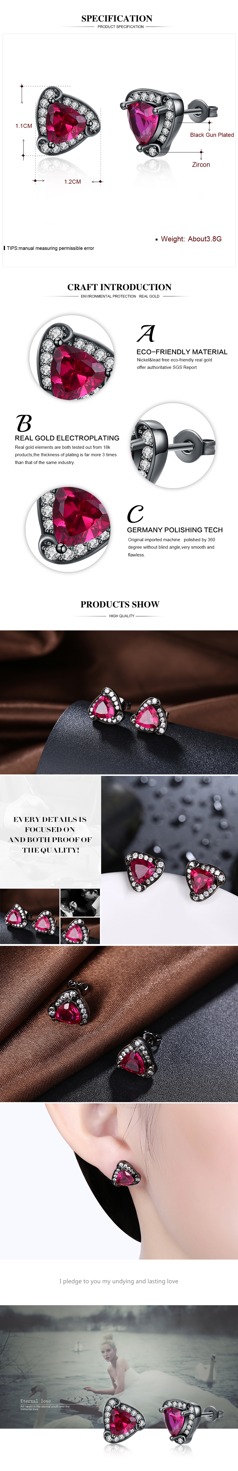 Stud Earrings NHKL12088