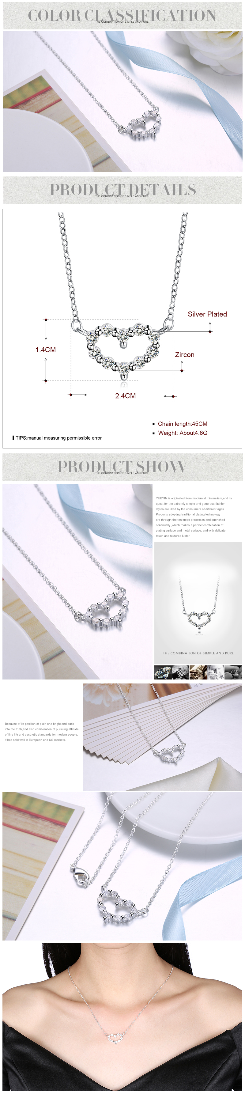 Necklaces NHKL12266-B