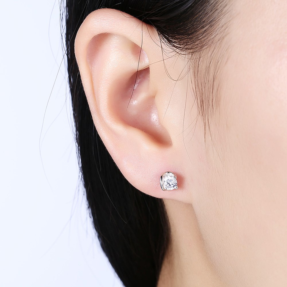 Fashion stud earrings NHKL11773