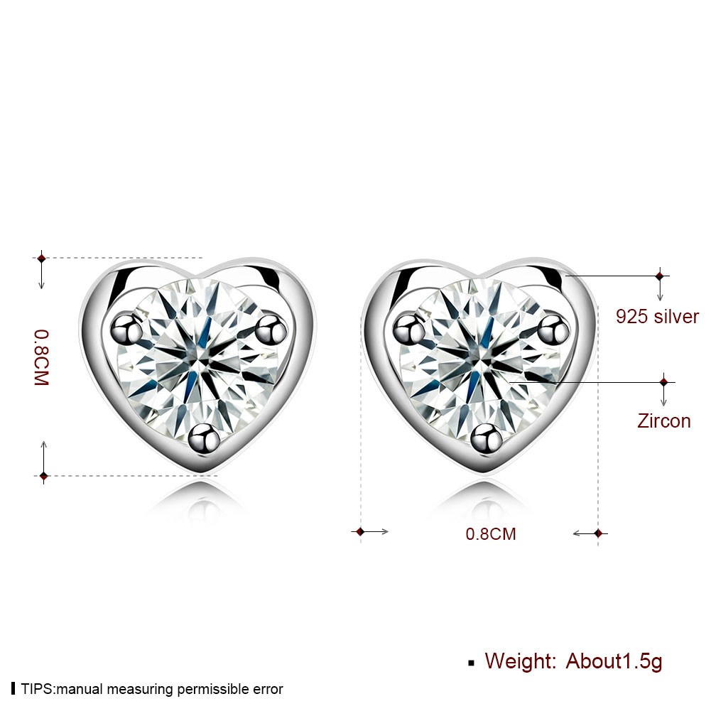Fashion stud earrings NHKL11802