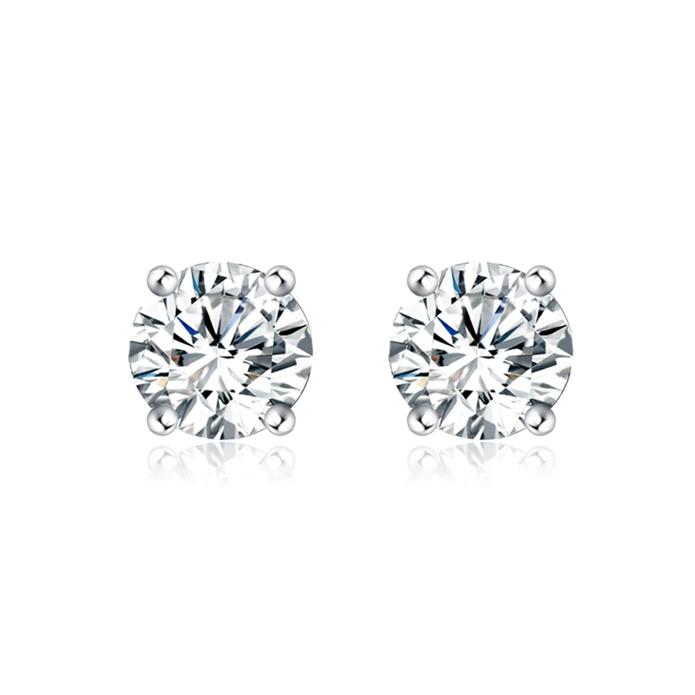 Inalis minimalist fashion women selling single diamond earrings