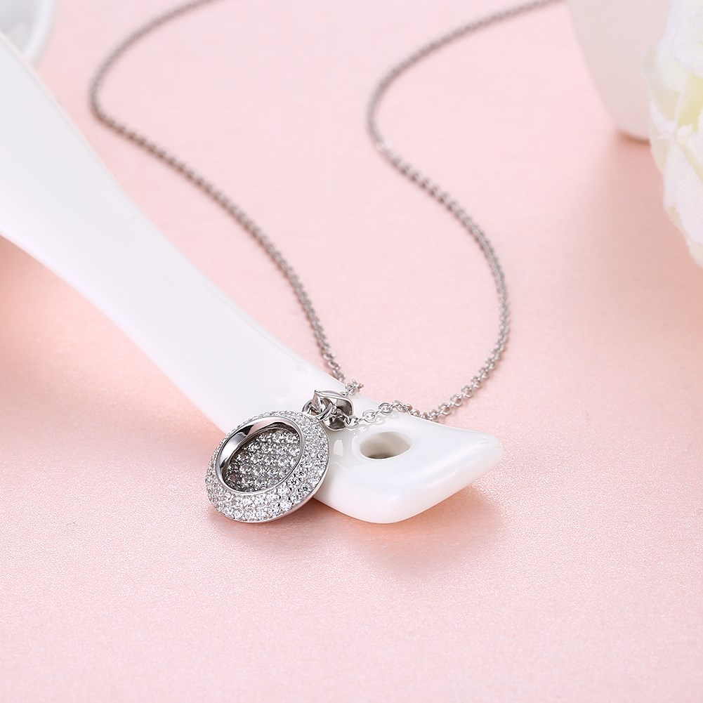 Rose Alloy  Necklaces NHKL12651-B