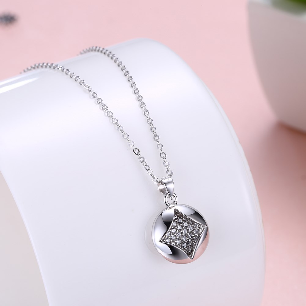 Rose Alloy  Necklaces NHKL12662-B