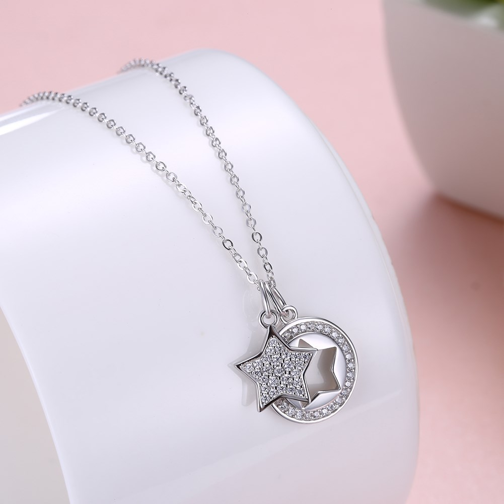 Rose Alloy  Necklaces NHKL12654-B