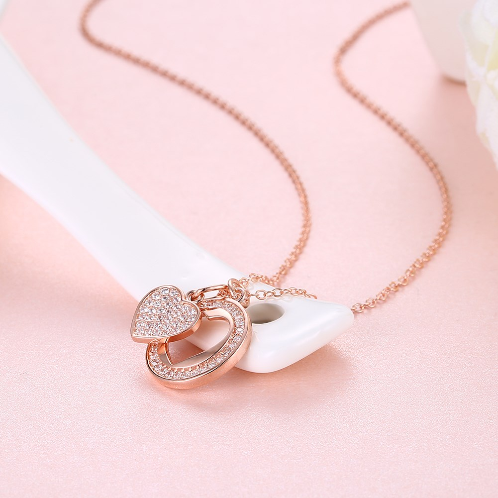 Rose Alloy  Necklaces NHKL12652-B