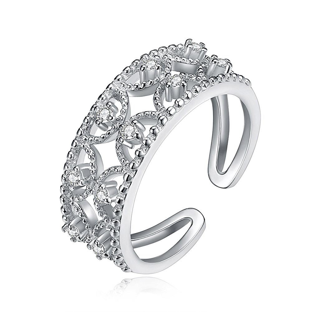 LEKANI S925 A Korean fashion ring