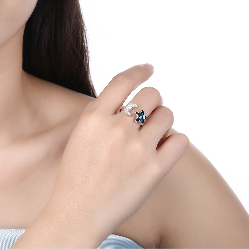 Platinum Plated  Sterling alloy Ring NHKL10023
