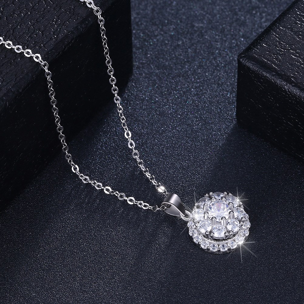 Platinum Plated  Necklaces NHKL13093