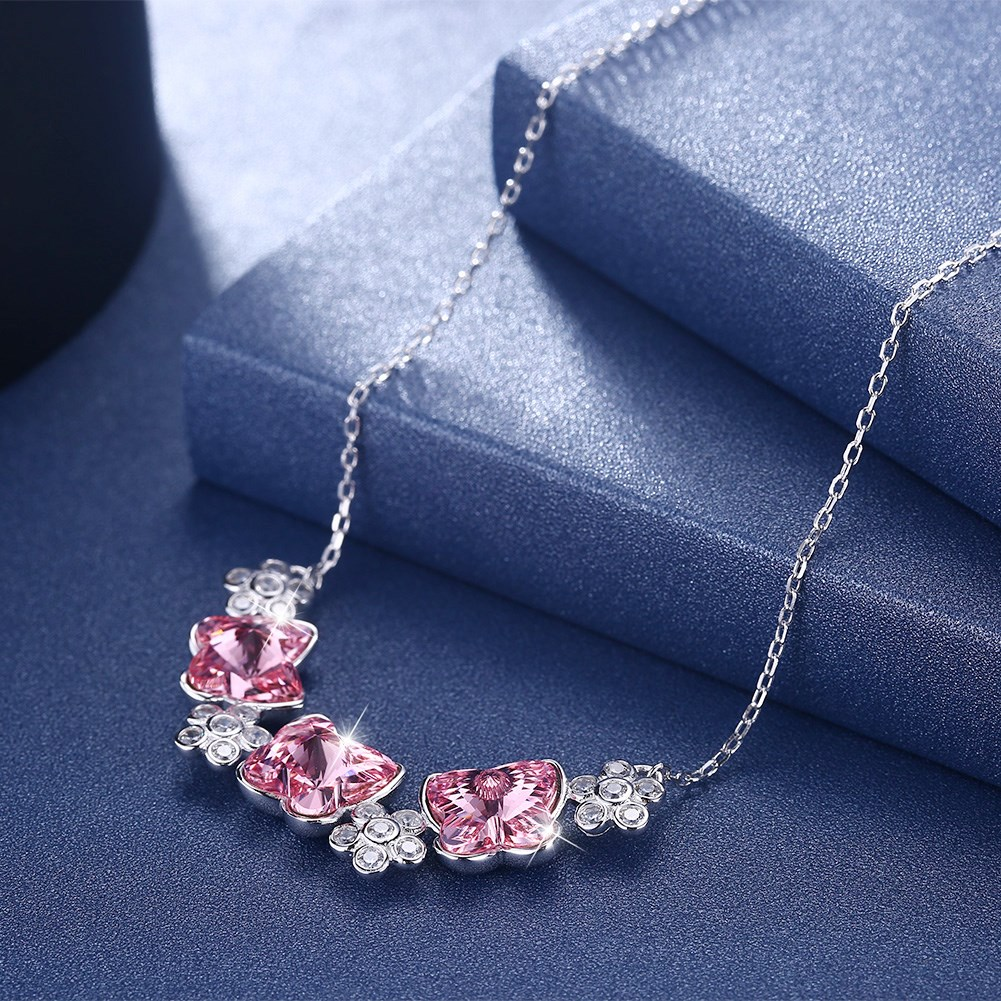 Platinum Plated  Necklaces NHKL13167-A