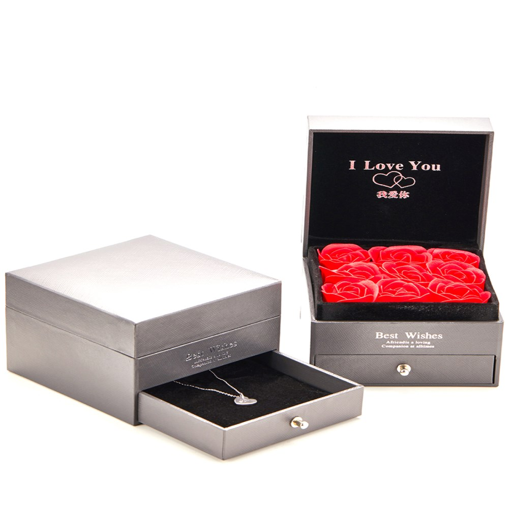 fashion simple Rose jewelry  packaging box nihaojewelry wholesale NHKL227085