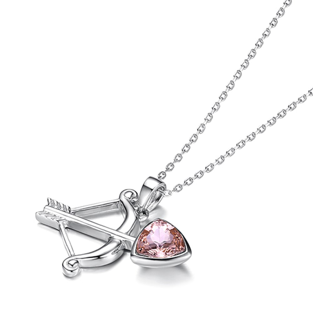 New S925 Sterling Silver Fashion Constellation Pendant Necklace NHKL203798