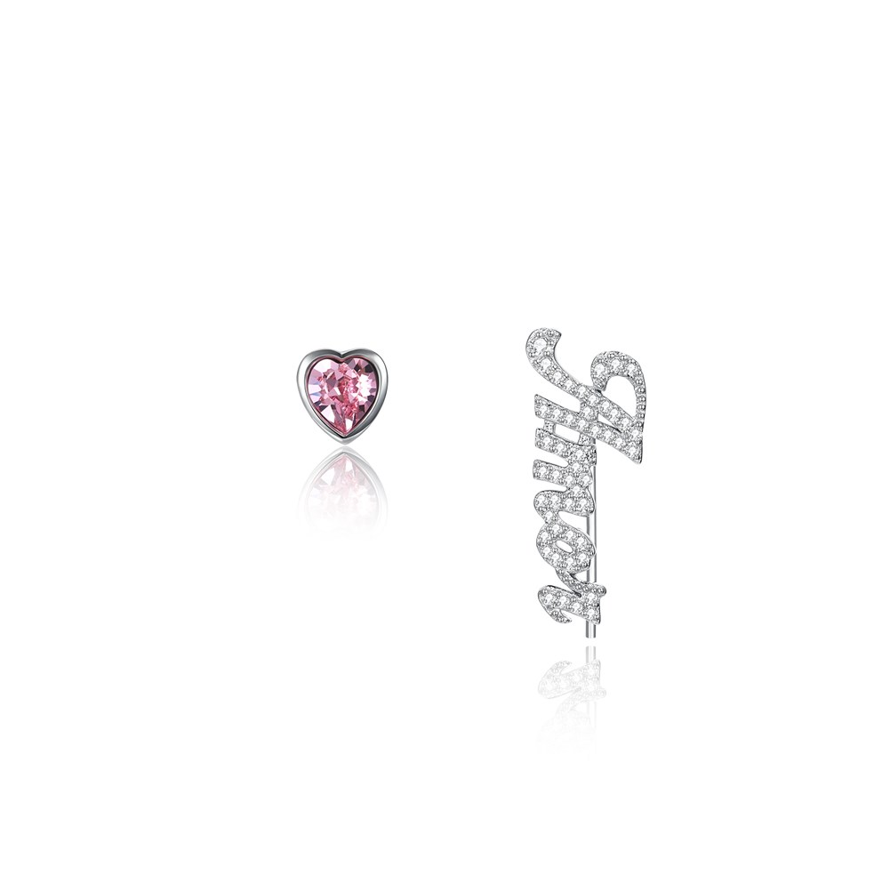 Element S925 sterling silver letter Amor wholesales yiwu suppliers china NHKL203796