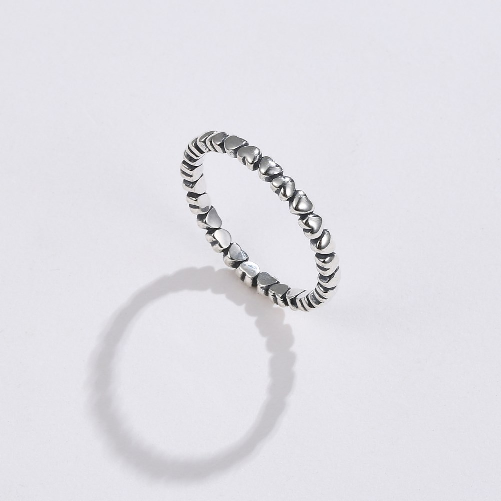 S925 silver ring burst love ring NHKL189557