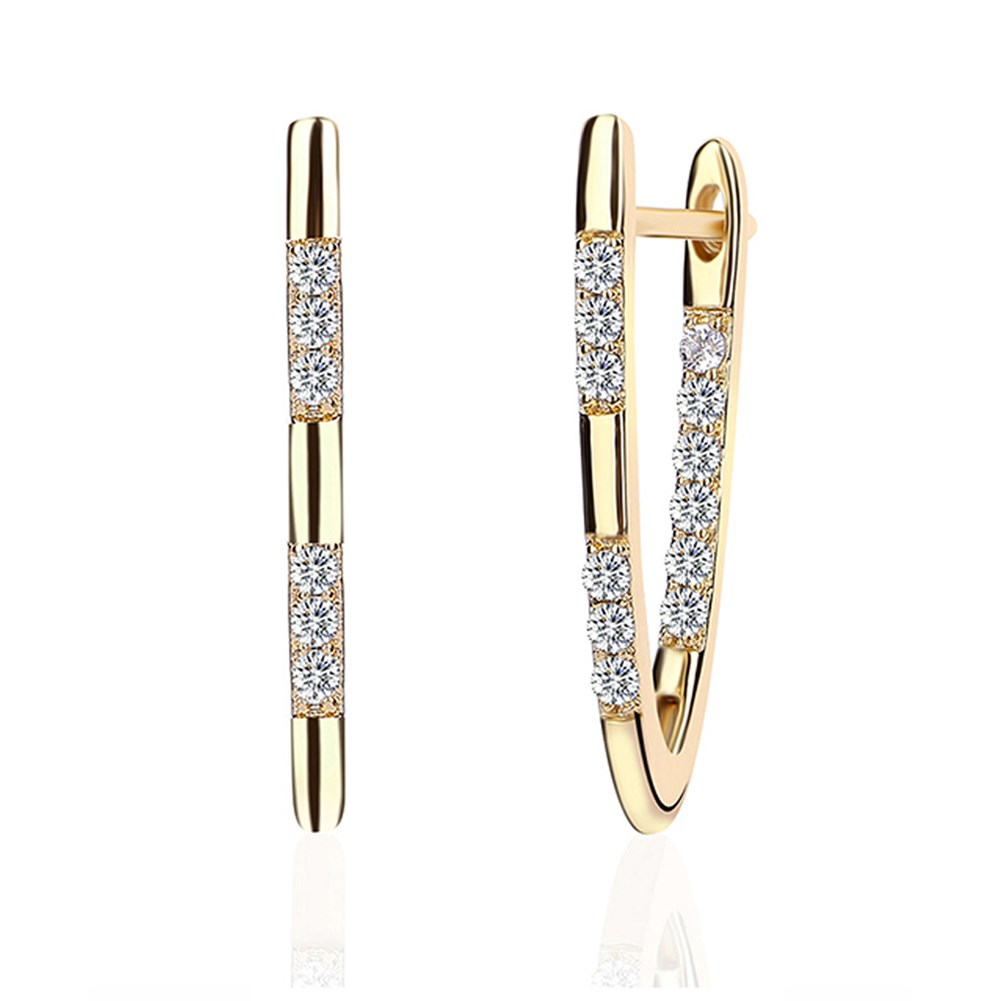 New Fashion Simple Vshaped Studs Wholesale NHKL203834