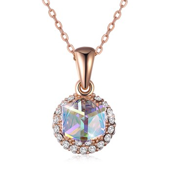 Platinum Plated  Necklaces NHKL13319-B
