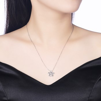 Platinum Plated  Necklaces NHKL13352-A