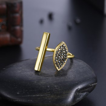 Alloy  Sterling alloy Ring NHKL13444