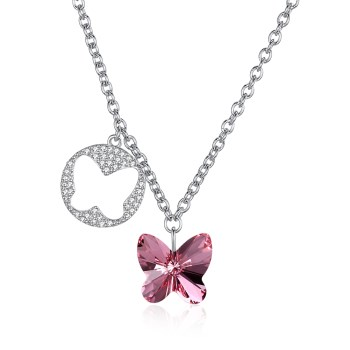 Platinum Plated  Necklaces NHKL13425-A