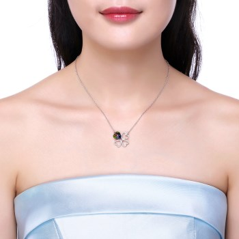 Platinum Plated  Necklaces NHKL13431