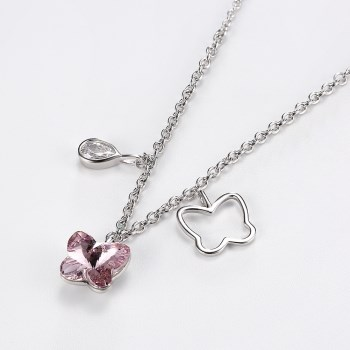 Platinum Plated  Necklaces NHKL13427-A
