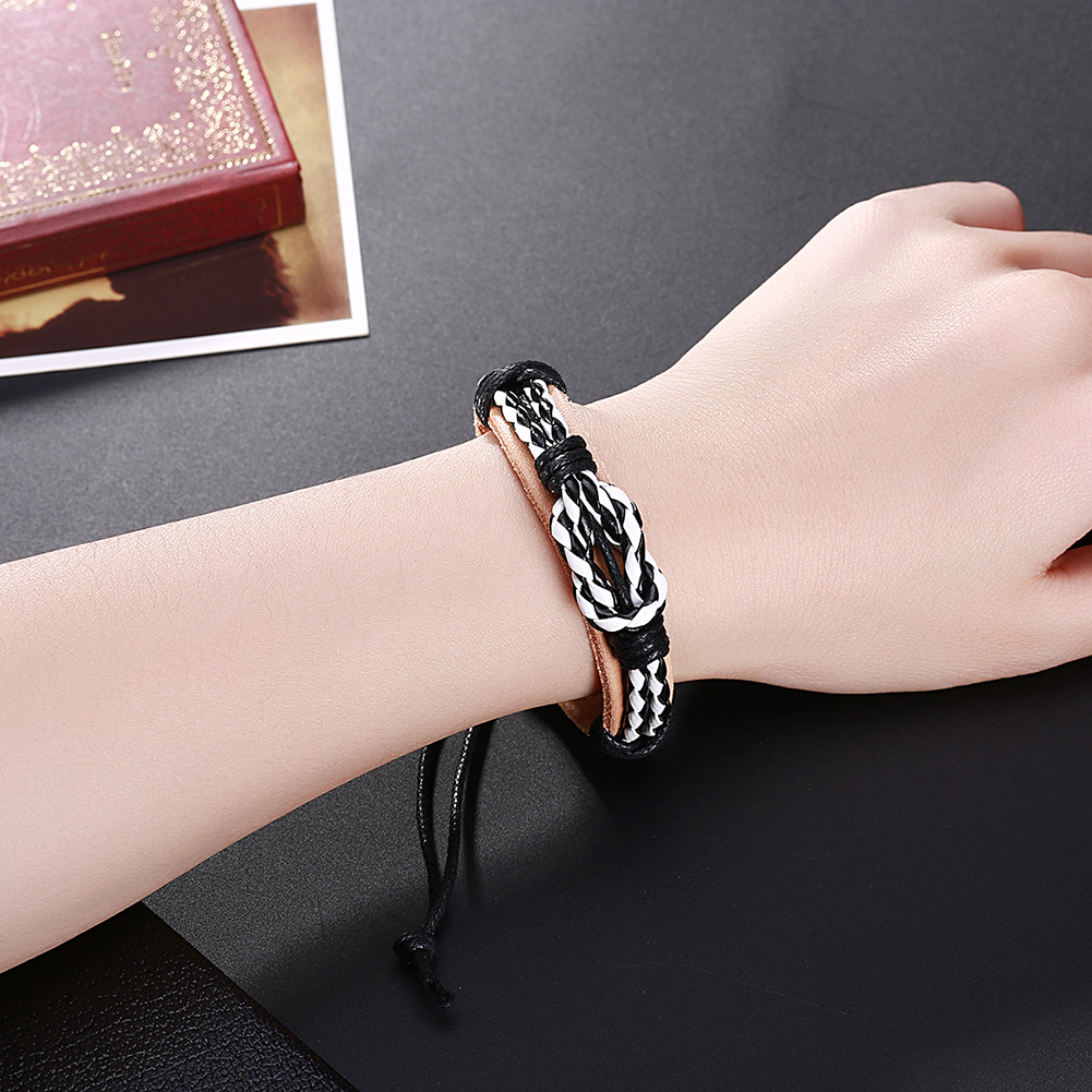 Europe and the United States punk wind retro cowhide bracelet FSH303 NHKL11286
