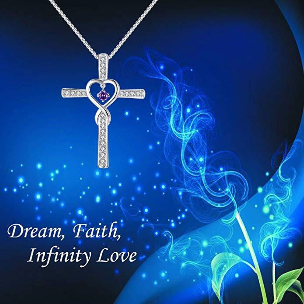 fashion style s925 silver plated heartshaped Birthstone pendant NHKL356515